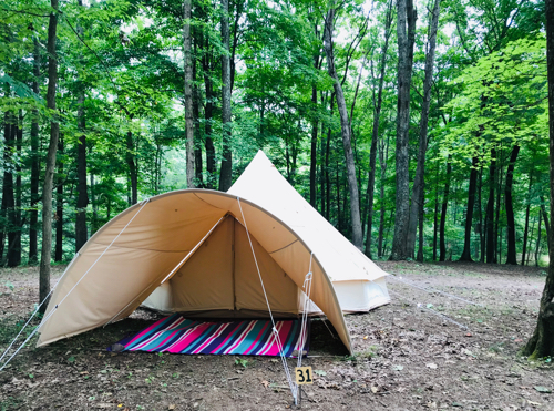tent + canopy